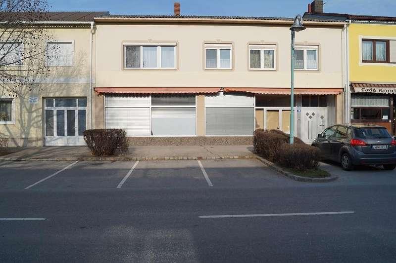 1 Geschäftslokal- Podersdorf,Straßenansicht