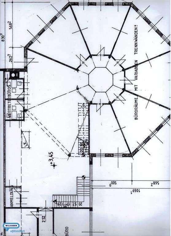 Plan 1 Obergergeschoss