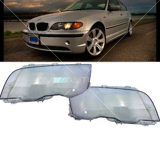 bmw e46 limo touring scheinwerferglas scheinwerfer glas. Black Bedroom Furniture Sets. Home Design Ideas