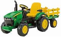 12V PEG PEREGO John Deere Ground Force Elektro Traktor Kinder Auto