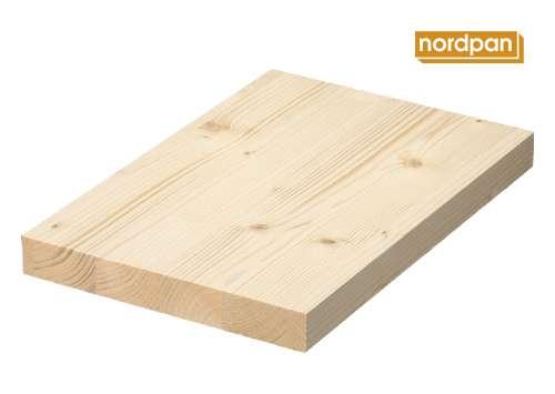 "Sehr Massivholzplatte, Leimholzplatte Fichte, Qualität ""A"", Nordpan  GJ22"