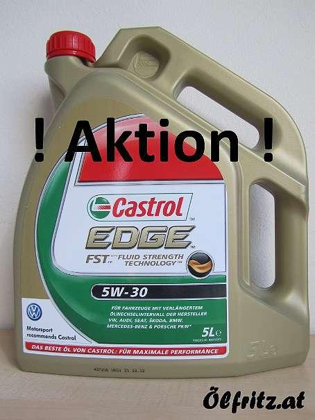 castrol edge fst 5w 30 motor l 5l kanne deutsche ware mit vw zeichen 48 1220 wien. Black Bedroom Furniture Sets. Home Design Ideas