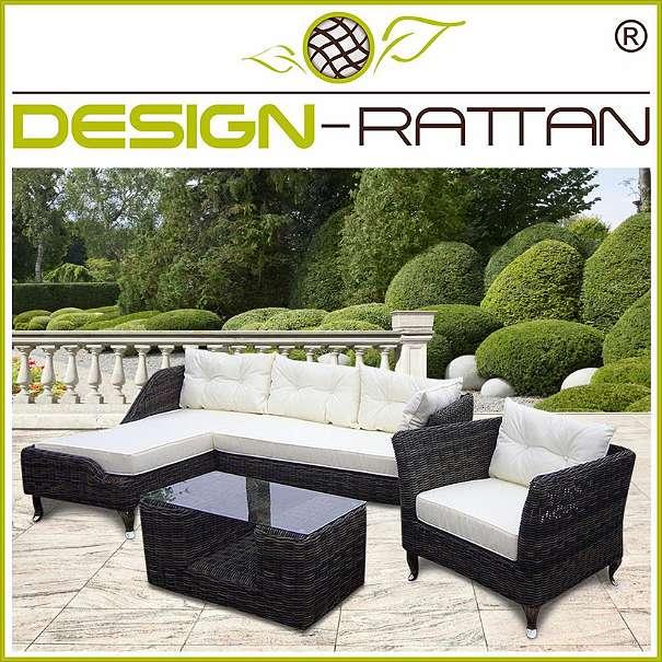 Europaletten Gartenmobel Streichen : DesignRattan®  BALI Exklusiv Rundrattan  KALIPURO, € 1399