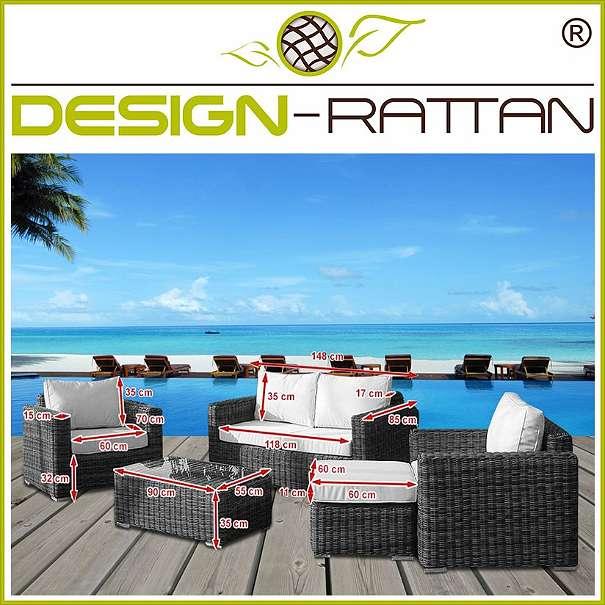DesignRattan®  BALI Exklusiv Rundrattan  TAMAN, € 1399, (4673