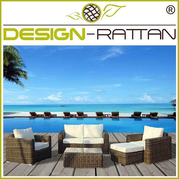 Europaletten Gartenmobel Streichen : DesignRattan®  BALI Exklusiv Rundrattan  TAMAN, € 1399, (4673