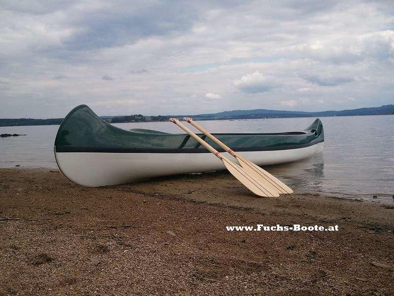 NEU 2er Kanu 420 cm 27 Kg 2 Sitzer Kanu Kanadier Canadier Boot Ruderboot Paddelboot Angelboot