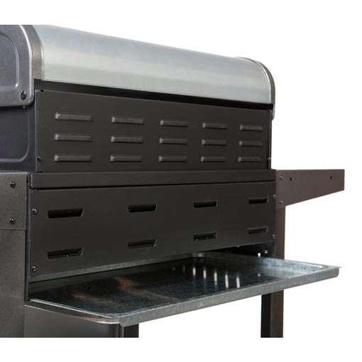 gro er gasgrill bbq grillwagen 4 edelstahl brenner gas barbecue grill neu grau silber edition. Black Bedroom Furniture Sets. Home Design Ideas