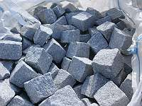 Granit Steine / Nockerl / Würfel 8 x 11