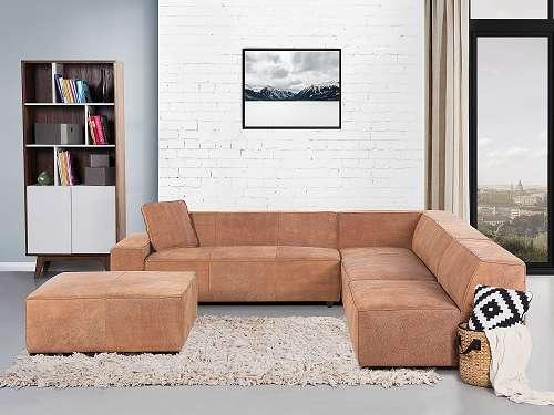 sofa vintage braun ecksofa ledersofa echtleder adam l 1190 wien willhaben. Black Bedroom Furniture Sets. Home Design Ideas