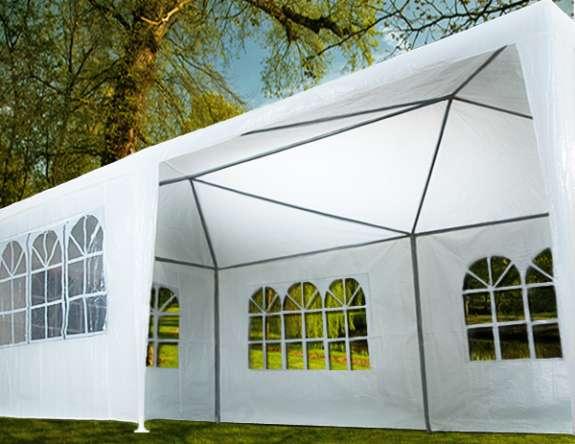 NEU Partyzelt 6 x 3 Meter - Bierzelt - Zelt - Party - Grillen - Fest - Feier - Geburtstag - Hochzeit - Festzelt