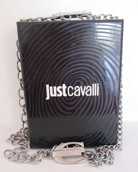 * www luxus-store at * JUST CAVALLI KETTE HALSKETTE SILBER