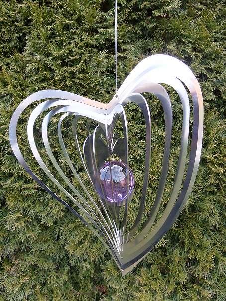 metall wirbel windspiel herz swing aus edelstahl neu 25 5141 moosdorf willhaben. Black Bedroom Furniture Sets. Home Design Ideas