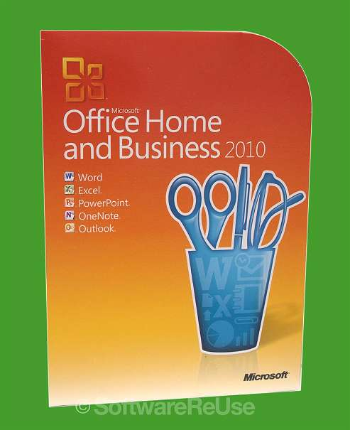 Microsoft Office 2010 Home And Business Mwst Rechnung 119