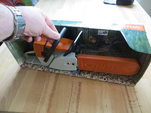 Stihl Kindersäge Spielzeug (Motorsäge bzw. Kettensäge) NEU