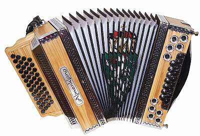 Steirische Almenklang Harmonika - Modell
