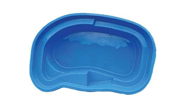 Schwimmbecken Tobago Hellblau