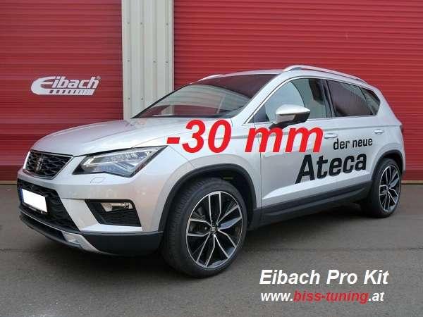 Eibach Sportline VW Golf 7, Seat Leon 5F E21-85-41-13 E21-85-41-23 und NEU Pro Kit E10-15-021-44-22 -50/40 mm mit TÜV