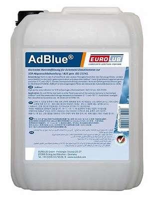 Eurolub AdBlue Harnstofflösung 20l Kanne mit GRATIS VERSAND! (1L= 0,89?)