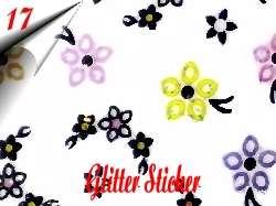 Nail Glitter Sticker Nr.17