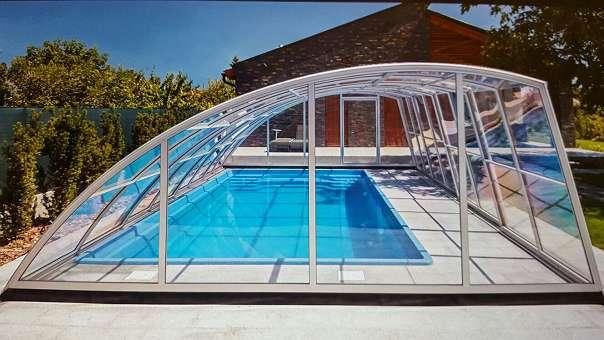 Pool berdachungen jetzt 10 online rabatt mit lieferung for Garten pool leiter