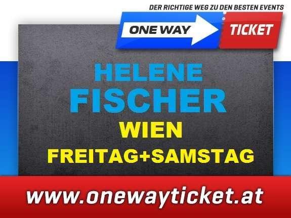 Aktion: Orginalpreis Helene Fischer Tickets Wien Fr.+ Sa * FRONT OF STAGE + TOP SITZPLÄTZE ! Tickets Karten 16.2.+17.2.2018