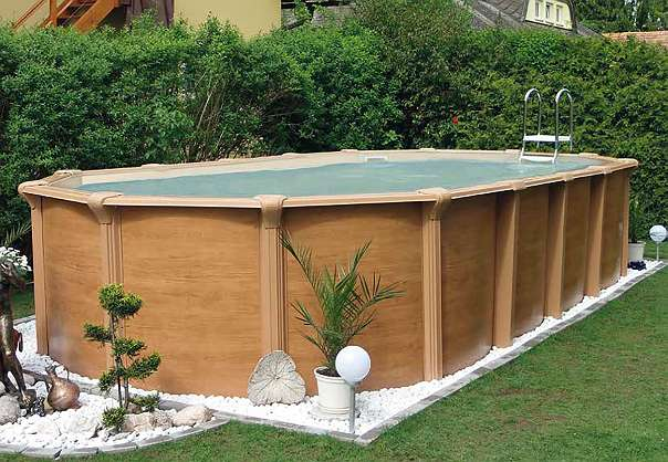 Steirerbecken Pools Supreme Wood