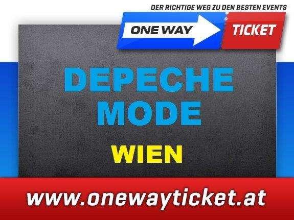 Depeche Mode - Wien - Front of Stage - 1. Reihe Sitzplätze