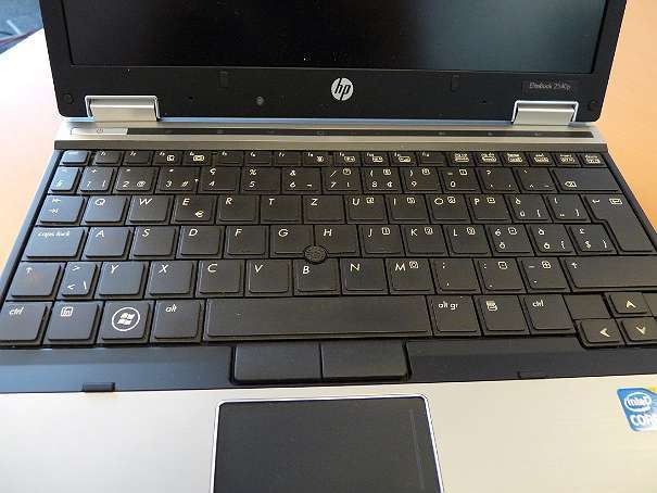 "Mini 12,1"" HP EliteBook 12.1"" Intel Core i5 540M 4x2.53GHz 4GB WiFi BT Win 7 nb5 imp05 mk1 zz"