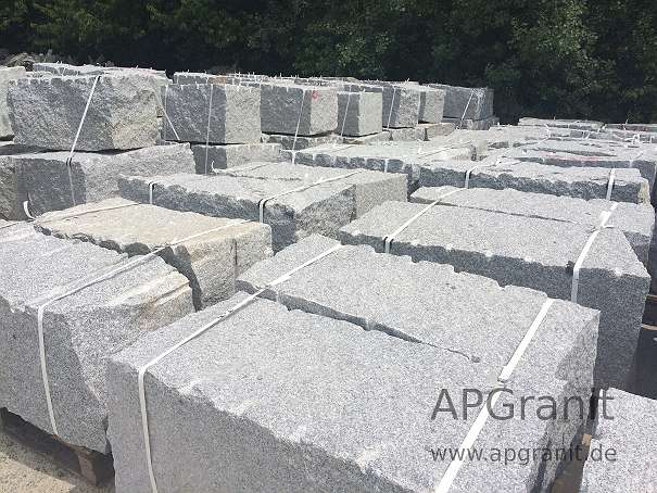 granit mauersteine grau 40x40x80 120 granit quadersteine. Black Bedroom Furniture Sets. Home Design Ideas