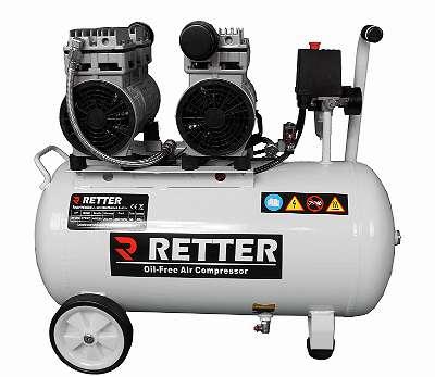 ANGEBOT - 26 % statt ? 401,90-. Sie sparen ? 104,50-. Luftkompressor silent Retter RT1050 Öl frei Druckluft, Kompressor, Compressor, Flüster Kompressor
