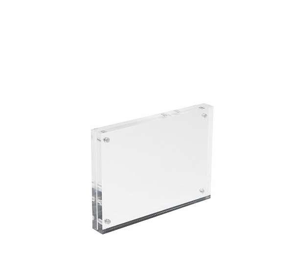 Magnet-Fotorahmen aus Acrylglas