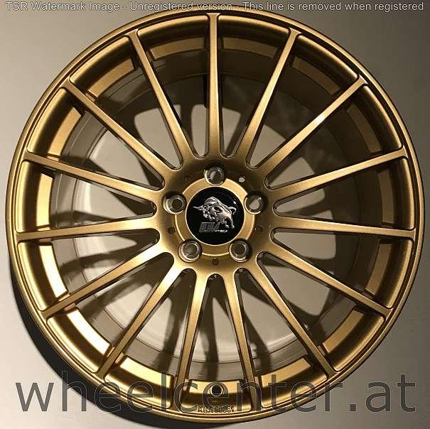 19 ua4 gold alufelgen oz ultra wheels audi vw skoda. Black Bedroom Furniture Sets. Home Design Ideas