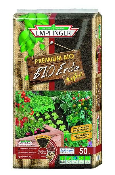 Empfinger Premium Bio Erde Fur Hochbeet 50 Liter 9 99 8200