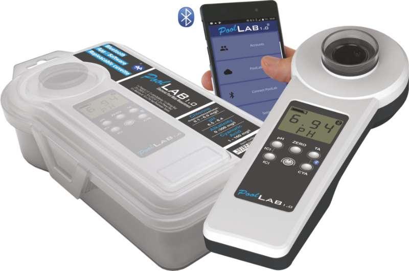 Neuer Wassertester PoolLab1.0 mit Bluetooth