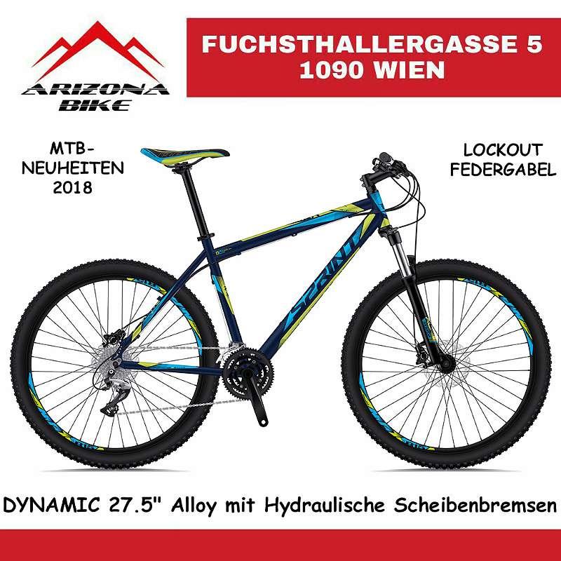 """! AKTION! NEUE! AKTION! DYNAMIC DB 27.5"""" Mountainbike HARDTAIL Alloy mit Hydraulische Scheibenbremsen mit Lockout Federgabel Super Fahrrad, EU PRODUKT!"""