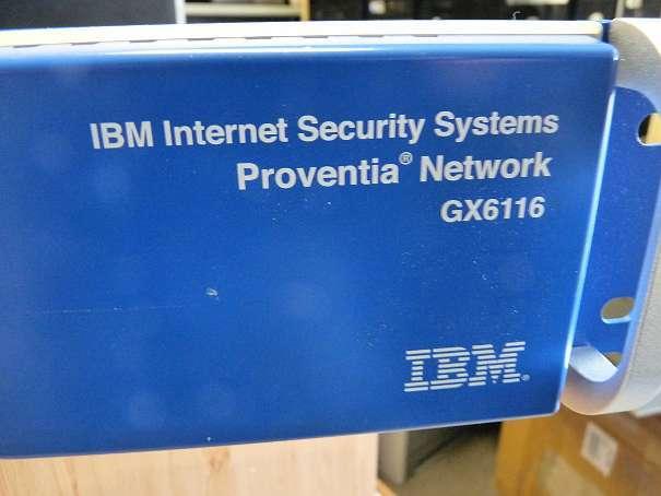 IBM Proventia Network Intrusion Prevention System (IPS) GX6116 mk8 zz