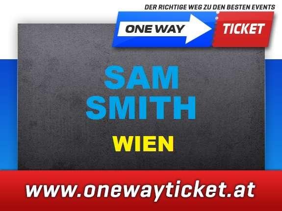 Sam Smith*Stadthalle Wien*TOP-Sitzplätze*Restkarten hier verfügbar*Orchester ganz vorne