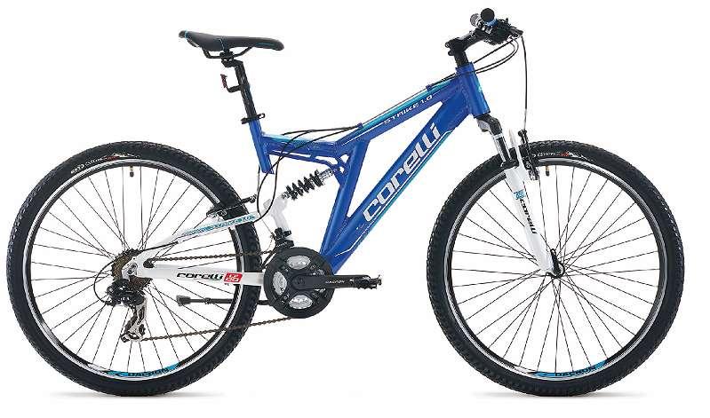 Bike Discounter * SUPER ANGEBOT * Full Suspension * Strike 1.0 - 26 Zoll * Shimano Schaltung 21 Gänge * 1 Jahre GARANTIE (-1-)