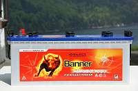 12 Volt 230 Ah Banner Bootsbatterie für Elektroboote Höfner-Boote®