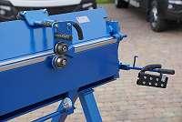 Biegemaschine Abkantbank Kantbank Schwenkbiegemaschine 3,5m zum 1mm Stahlblech mit Rollenschere NEU