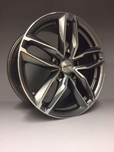 """19"""" GMP ATOM 19 Zoll 8,5J ET45 NEU VW Golf Audi A3 A4 A6 Seat Skoda Antrazith"""