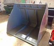 SCHAUFEL XXL - MAXI LEICHTGUTSCHAUFEL - SCHOTTER SCHAUFEL 1300x1400x2000 mm /