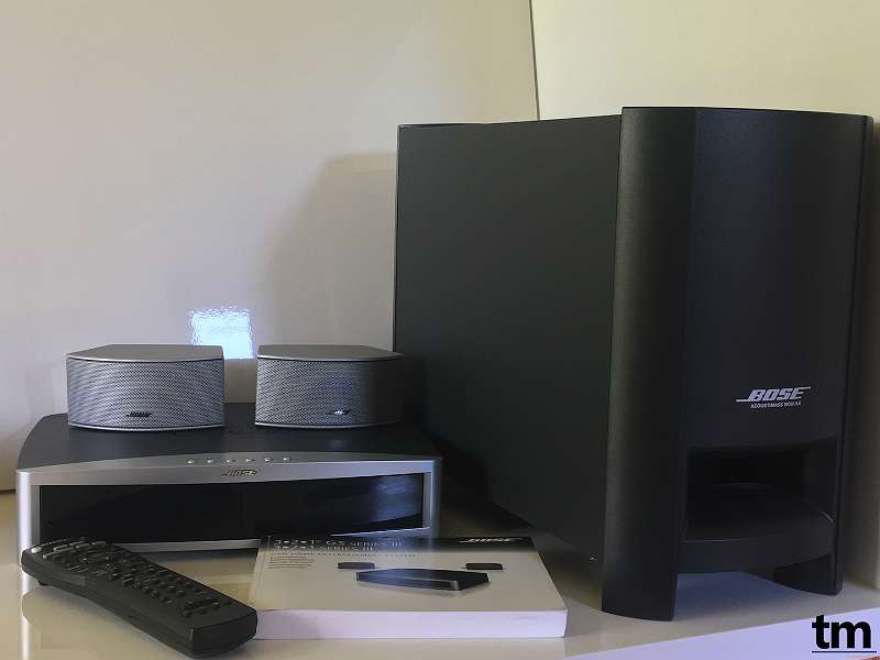 bose 3 2 1 iii gsx acoustimass system hdmi dvd cd. Black Bedroom Furniture Sets. Home Design Ideas