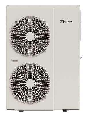 16 kW Chofu 380V Luft- Wasser Inverter Wärmepumpe
