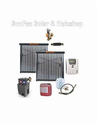 Solar-Paket 10,10 m² Vakuumröhrenkollektoren
