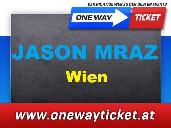 Jason Mraz*live in Wien*Gasometer*Stehplätze*Sitzplätze