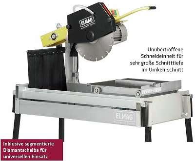 Elmag Steintrennmaschine STM 610/350