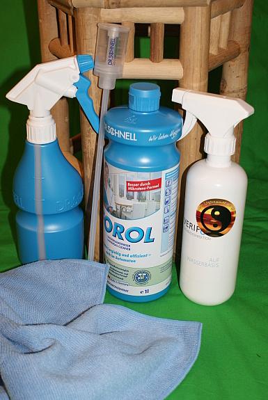 Desinfektions und Reinigungsset