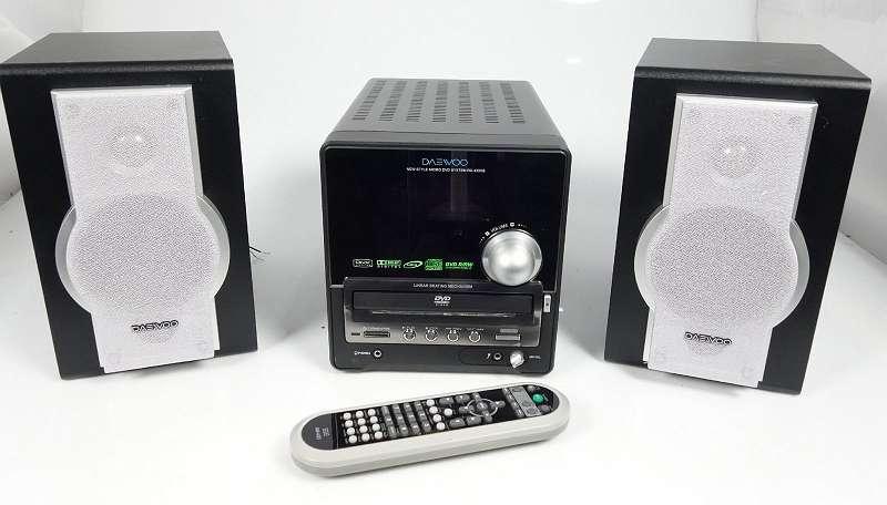 DAEWOO RD-430XB MICRO STEREO-ANLAGE CD PLAYER DVD PLAYER MIT LAUTSPRECHER +++ - KOSTENLOSER VERSAND INNNERHALB ÖSTERREICHS