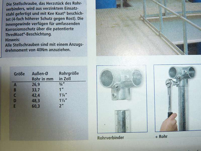 Rohrverbinder, NEU ¤ 12,40